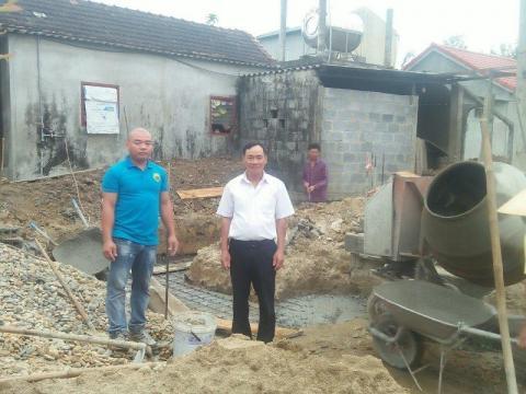 16 ngôi nhà chống lũ bắt đầu khởi công xây dựng (Chương trình xây dựng nhà chống lũ cho tỉnh Quảng Bình và Quảng Nam (C265))