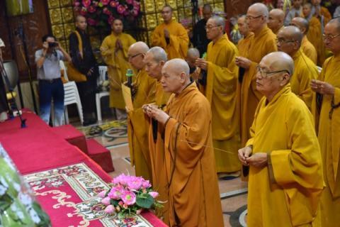 Lễ tưởng niệm thứ 25 cố HT. Thích Thiện Huệ viện chủ chùa Giác Ngộ