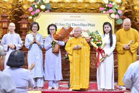 Talkshow: Vì Sao Tôi Theo Đạo Phật Khách mời: Doanh nhân Lê Hoàng Diệp Thảo