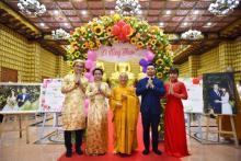 Chùa Giác Ngộ: Lần đầu tiên tổ chức lễ hằng thuận cùng lúc cho 2 cặp Phật tử trẻ