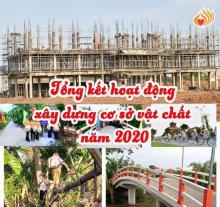Tổng kết hoạt động xây dựng cơ sở vật chất năm 2020