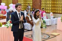Chùa Giác Ngộ: Lễ Hằng Thuận của Thảo Nguyên và Clement Ignace