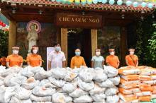 Quỹ ĐPNN trao tặng 5,5 tấn khoai và gạo có hoàn cảnh khó khăn trong thời gian giãn cách xã hội do dịch Covid-19