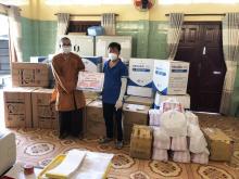 Chùa Giác Ngộ tiếp sức cùng BTS GHPG VN tỉnh Tiền Giang với hàng ngàn trang thiết bị, vật tư t tế