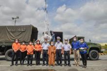 100 tấn gạo trao tặng UBMTTQVN Tp. Hồ Chí Minh đã cập Cảng Cát Lái