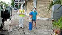 Chùa Giác Ngộ hỗ trợ hơi thở cho khoảng 158 người trong ngày Tết Trung thu