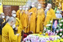 Chùa Giác Ngộ: Lễ tưởng niệm và cầu siêu cho Phật tử Nguyễn Hữu Tuất cùng hơn 20.000 người tử vong vì Covid-19