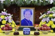 Lễ cầu siêu Phật tử Nguyễn Thị Thơ (PD. Diệu Thơ) tại chùa Giác Ngộ