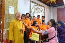 Chùa Giác Ngộ: 486 người tham gia Lễ hiến máu nhân đạo(02/06/2018)