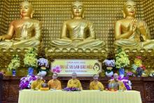 Chùa Giác Ngộ: Trên 600 người dự lễ Quy Y Tam Bảo rằm tháng 7 - 2017