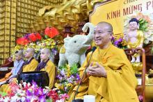 Chùa Giác Ngộ: Ngày tu học mừng ngày đản sinh của Đức Phật(29-05-2018)
