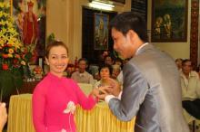 Chùa Giác Ngộ: Lễ hằng thuận của hai Phật tử Pháp Quang và Thanh Lương