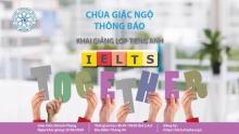 Khai giảng lớp Pali cơ bản và tiếng Anh IELTS