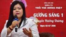 Gương Sáng 1: Nguyễn Hướng Dương