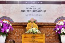 Chùa Giác Ngộ: Khóa tu Ngày An Lạc - Tuổi Trẻ Hướng Phật lần thứ 42