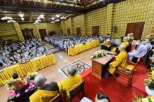 Khóa tu Tuổi Trẻ Hướng Phật: Vì sao không được hạnh phúc?