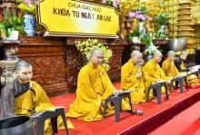 """""""Ngày an lạc"""" tại chùa Giác Ngộ - một khóa tu hằng tuần bổ ích"""