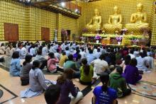Tết Mậu Tuất: TT. Thích Nhật Từ ban đạo từ cho hành hương của đạo tràng chùa Phước Long – Cần Thơ