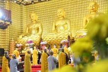 Lễ Sám hối đầu tiên trong năm Tân Sửu 2021 tại chùa Giác Ngộ