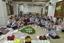 Chùa Giác Ngộ: Các lớp học Tuổi Trẻ Hướng Phật rộn ràng tất niên cuối năm