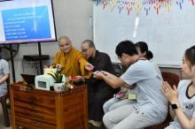 Khóa tu Tuổi Trẻ Hướng Phật: Khởi động cho những điều mới mẻ