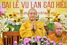 Xúc động lễ Vu Lan Báo Hiếu chùa Giác Ngộ Phật lịch 2017