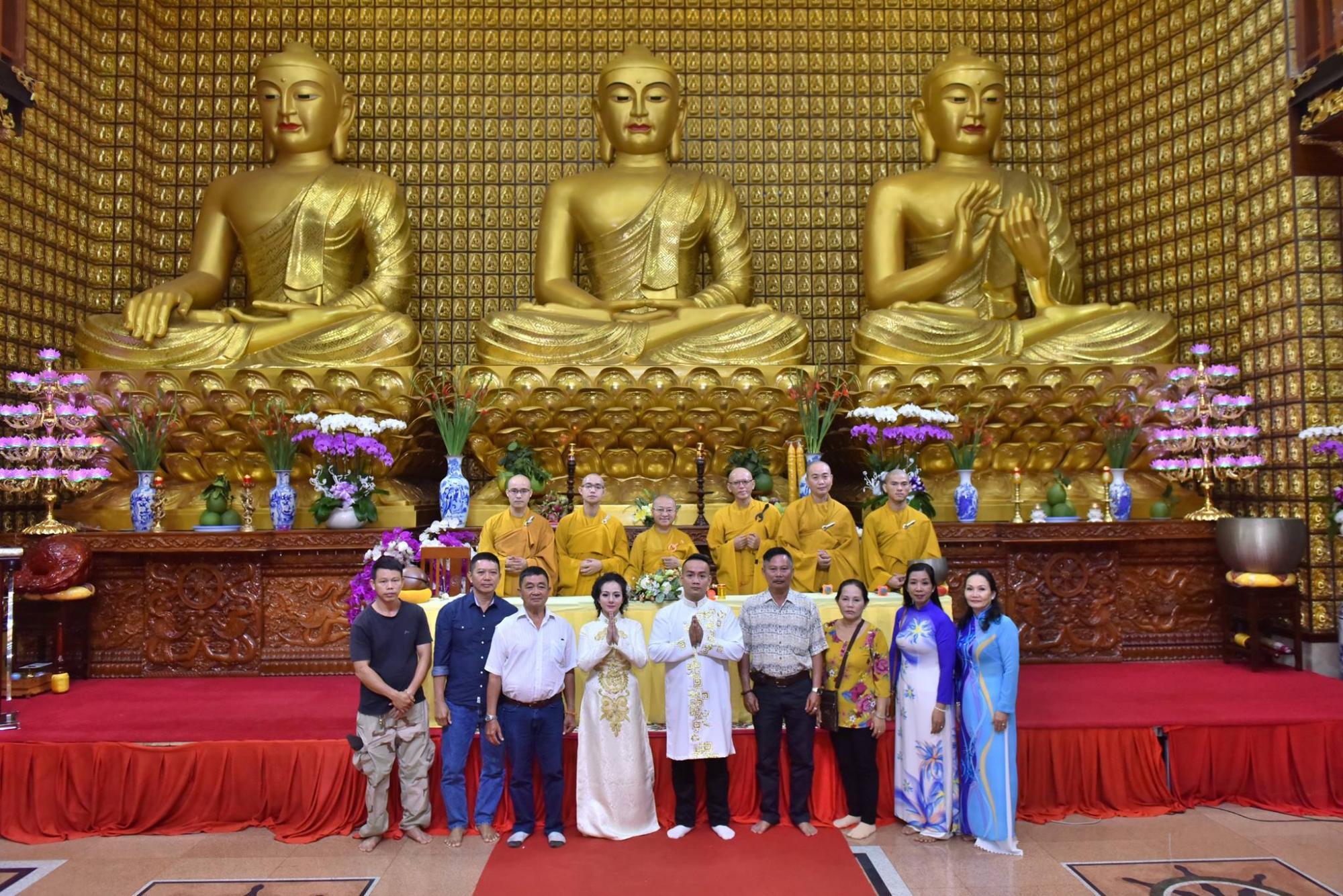 Lễ Hằng Thuận cho chú rể Huỳnh Quang & cô dâu Kiều Trinh
