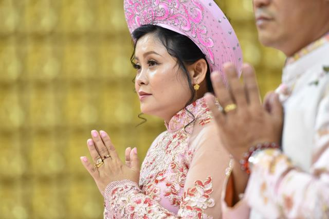 Lễ Hằng Thuận của chú rể Huỳnh Tấn Linh và cô dâu Nguyễn Thị Ngọc Vân