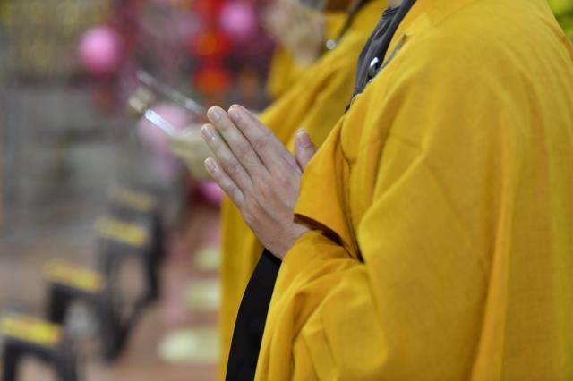Lễ mừng Khánh tuế tại chùa Giác Ngộ năm 2021