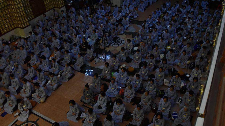 Khóa tu thiền Tứ Niệm Xứ lần thứ 28 tại Chùa Giác Ngộ