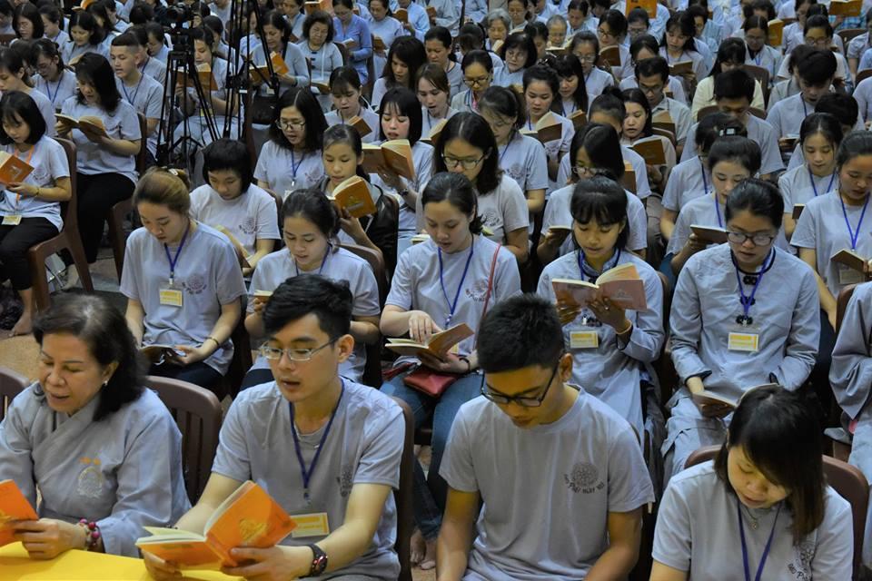 Khóa tu Tuổi Trẻ Hướng Phật lần 54(30/09/2018)