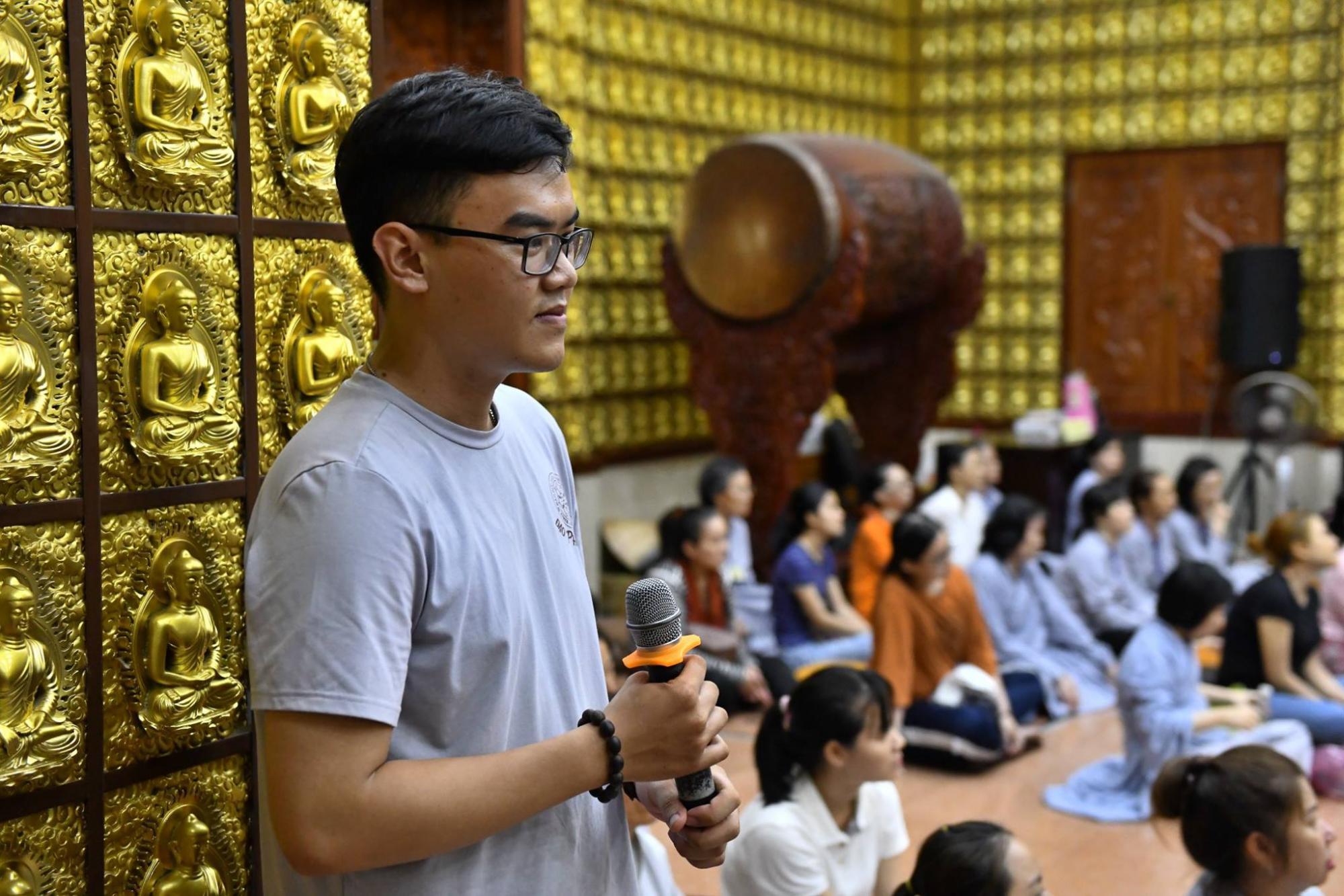 Chùa Giác Ngộ : Khóa Tu Thiền Tứ Niệm Xứ lần thứ 40 (24/03/2019).