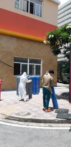 """Chương trình """"Đổi oxy miễn phí"""" của chùa Giác Ngộ lại giúp được thêm gần 300 người F0"""