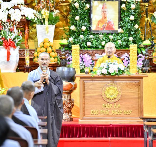 Kết thúc khóa tu Xuât gia gieo duyên lần thứ 7 tại chùa Giác Ngộ