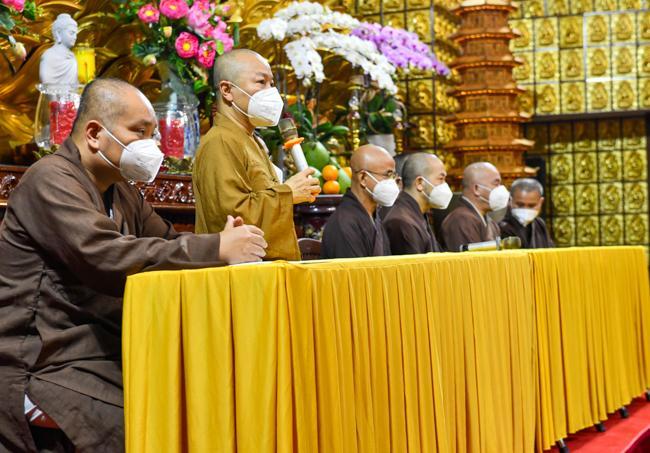 Hoạt động tích cực trong mùa dịch, Chùa Giác Ngộ nhận bằng tuyên dương công đức từ Giáo hội TP.HCM
