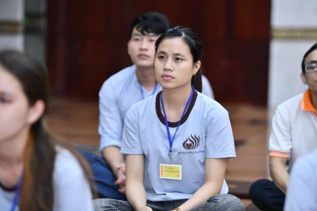 Khi người trẻ tham dự khóa tu