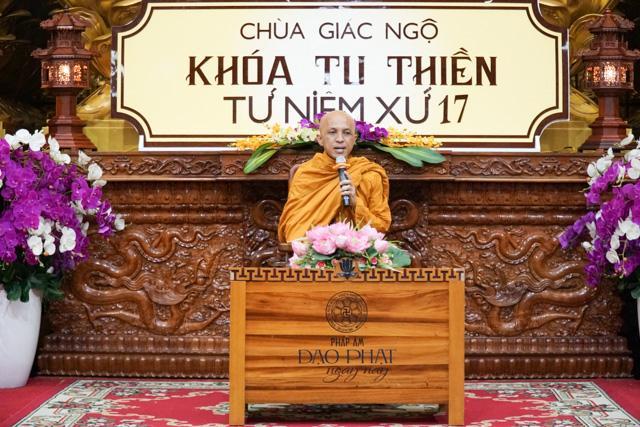 Chùa Giác Ngộ: Khóa tu Thiền lần thứ 17
