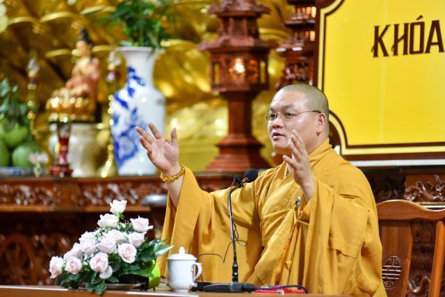 """""""Từ lũ lụt miền Trung, suy niệm lời Phật dạy trong Kinh Bát đại nhân giác"""" - Bài thuyết giảng của ĐĐ. Thích Quảng Tịnh"""