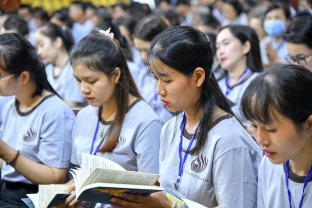 Khóa tu Tuổi trẻ: Việc xóa nghèo qua lăng kính của người trẻ