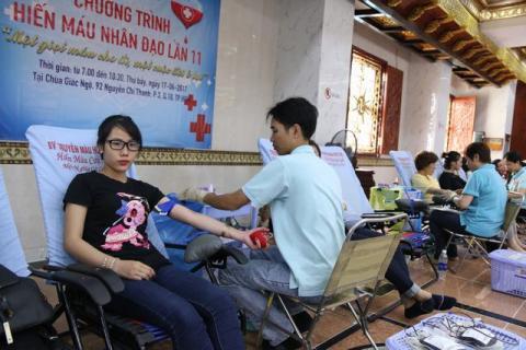 Chùa Giác Ngộ: Một giọt máu cho đi một cuộc đời ở lại lần thứ 11
