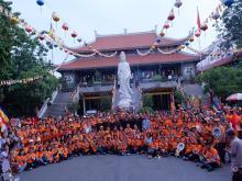 Chùa Giác Ngộ : Khóa tu Ngày an lạc và Tuổi trẻ hướng Phật lần thứ 45