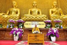 Chùa Giác Ngộ: Khóa tu ''Tuổi Trẻ Hướng Phật'' lần thứ 20