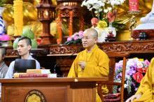Khóa tu Tuổi Trẻ Hướng Phật: Vì sao Tăng Ni cần giỏi về Phật học