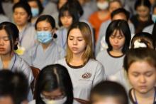 Chùm ảnh: Khóa tu Tuổi Trẻ Hướng Phật ngày 17/01/2021