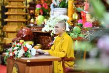 """""""Tu tập hạnh từ bi"""" - Bài giảng đầu tiên trong khóa tu Tuổi Trẻ Hướng Phật năm Tân Sửu"""