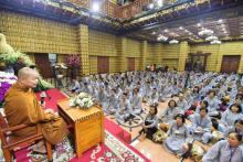 Chùa Giác Ngộ: Khóa tu Thiền lần thứ 11