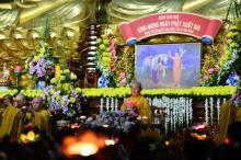 Chùa Giác Ngộ: Đêm hoa đăng nhân kỷ niệm Ngày Thái tử Tất-đạt-đa xuất gia