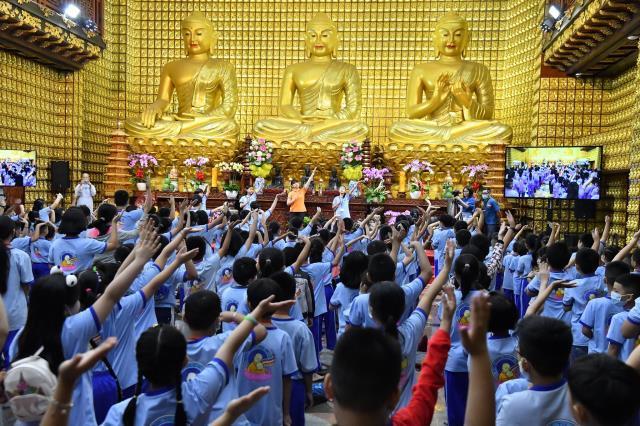 Búp Sen Từ Bi - Khóa tu Thiếu nhi hằng tuần tại chùa Giác Ngộ