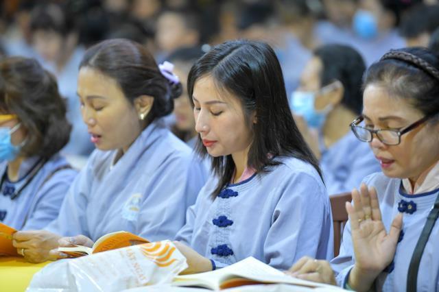 TP. HCM: Hơn 500 thiện nam, tín nữ trở thành Phật tử