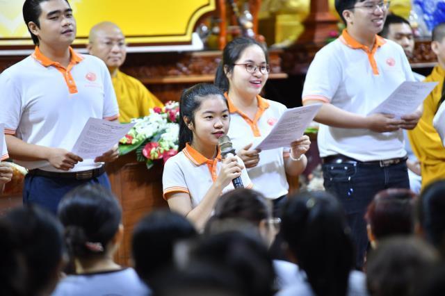 Khóa tu Tuổi Trẻ Hướng Phật tại chùa Giác Ngộ